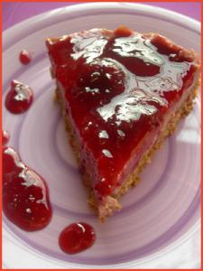 Cheesecake-di-tofu-e-ciliege-vegan