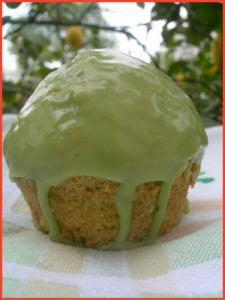 Muffin-al-cocco-e-the-verde-matcha-vegan