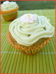 Tortine-alla-banana-e-the-verde-matcha-vegan