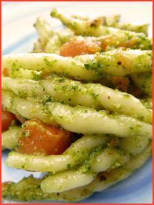 trofie-al-pesto-di-rughetta-e-zucca-vegan